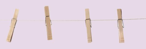 Wäsche aufhängen ist nachhaltiger als den Tumbler zu nutzen.