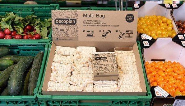 Plastiksäckli Adé: Jetzt kommen noch mehr Öko-Bags fürs Obst