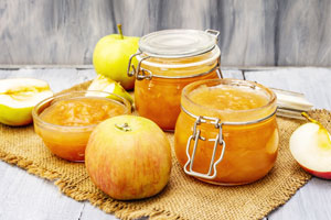 Herbstliche Apfelkonfitüre – ein fixes Rezept