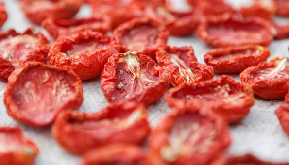 Getrocknete Tomaten einfach selber machen und einlegen