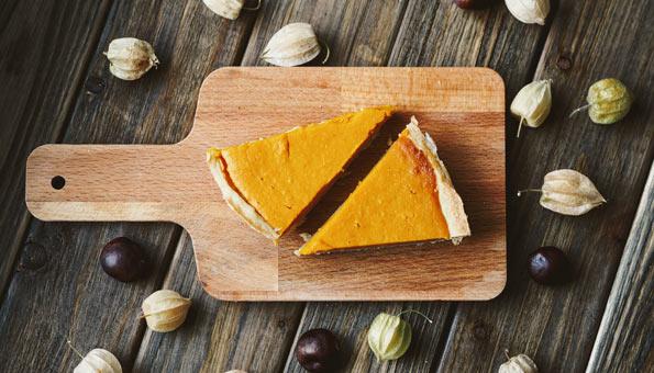 Kürbiskuchen – traditioneller Pumpkin Pie