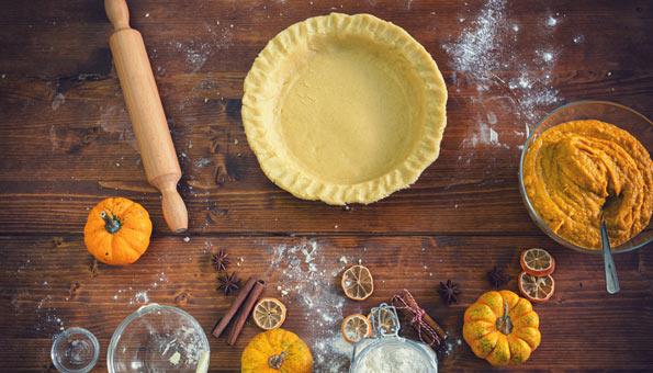 Kürbispuree für Kürbiskuchen und Pumpkin Pie