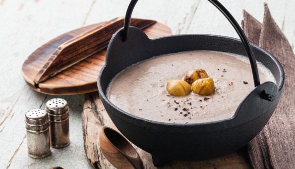 Marronisuppe – feines Rezept für die Kastaniensuppe