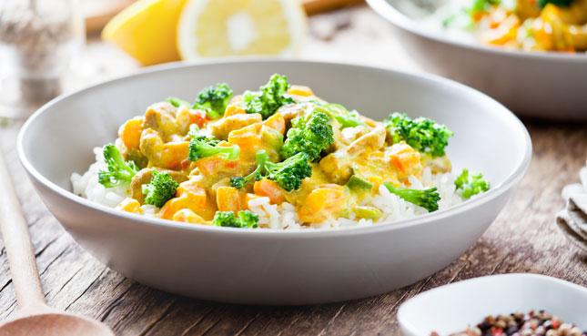 Plantet Chicken Curry