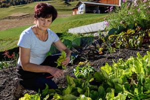 Selina Sonder im Garten