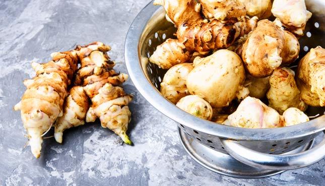 Topinambur kochen