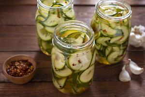 Zucchini einmachen süss-sauer: Ein einfaches Rezept