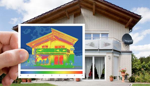 Thermografie: Energiekosten senken
