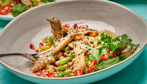 Planted Chicken ist ein veganer Fleischersatz