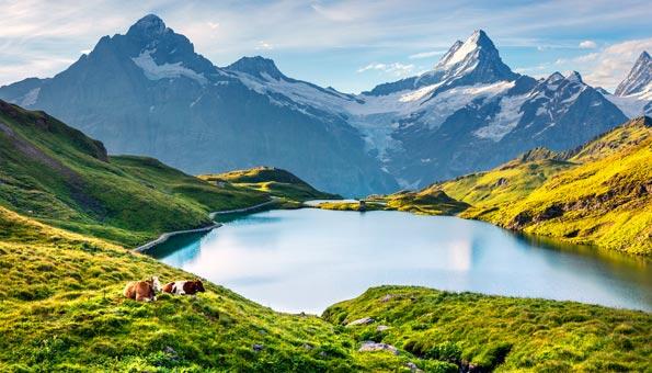 Bachalpsee: Wandern rund um den See und in der Region Grindelwald