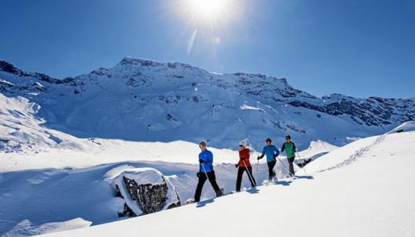 Schneeschulaufen im Engstligental und auf der Engstligenalp