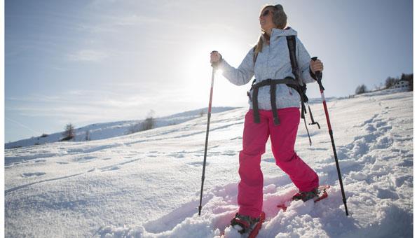 Schneeschuhwandern ausrüstung