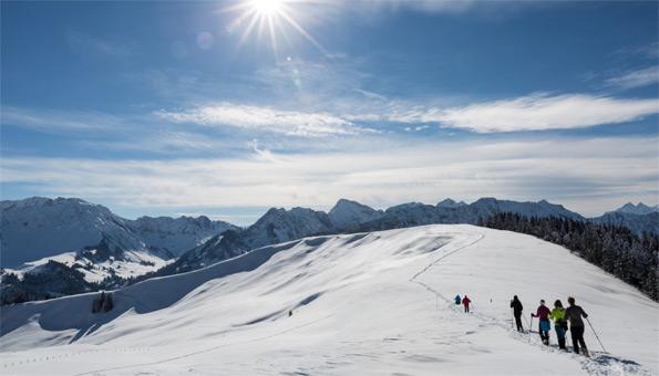 Schneeschuhwandern: 5 Top Reisen
