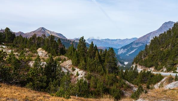 Val Müstair Unesco Biosphären Reservat Schweizer Nationalpark