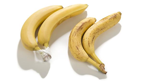 Bananen frisch halten
