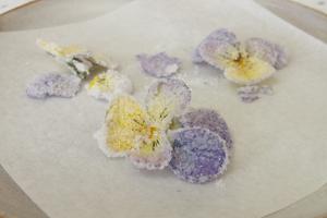 Kandierte Blumen