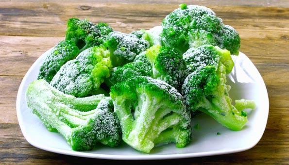 Broccoli einfrieren