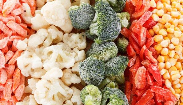 Gemüse einfrieren: So wird's gemacht