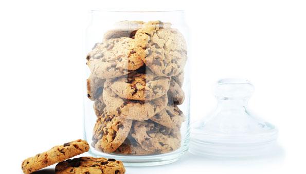 Kekse in der Blechdose oder im Glas aufbewahren