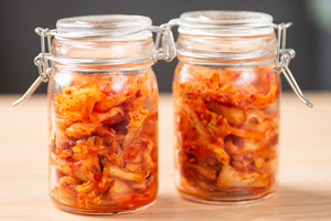 Kimchi im Weckglas: selbstgemacht und frisch