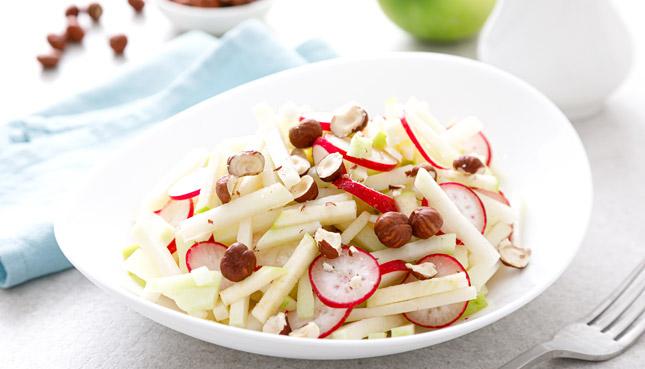 Navet: Recette: Salade de navet