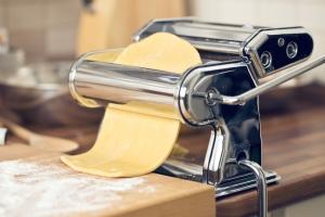Pasta selber machen mit Nudelmaschine