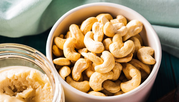 Nusssorte: Cashews