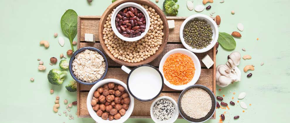 In diesen Lebensmitteln stecken am meisten pflanzliche Proteine