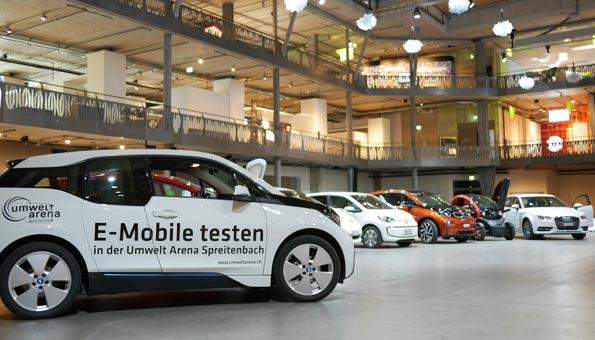 Umwelt Arena Schweiz Elektroautos